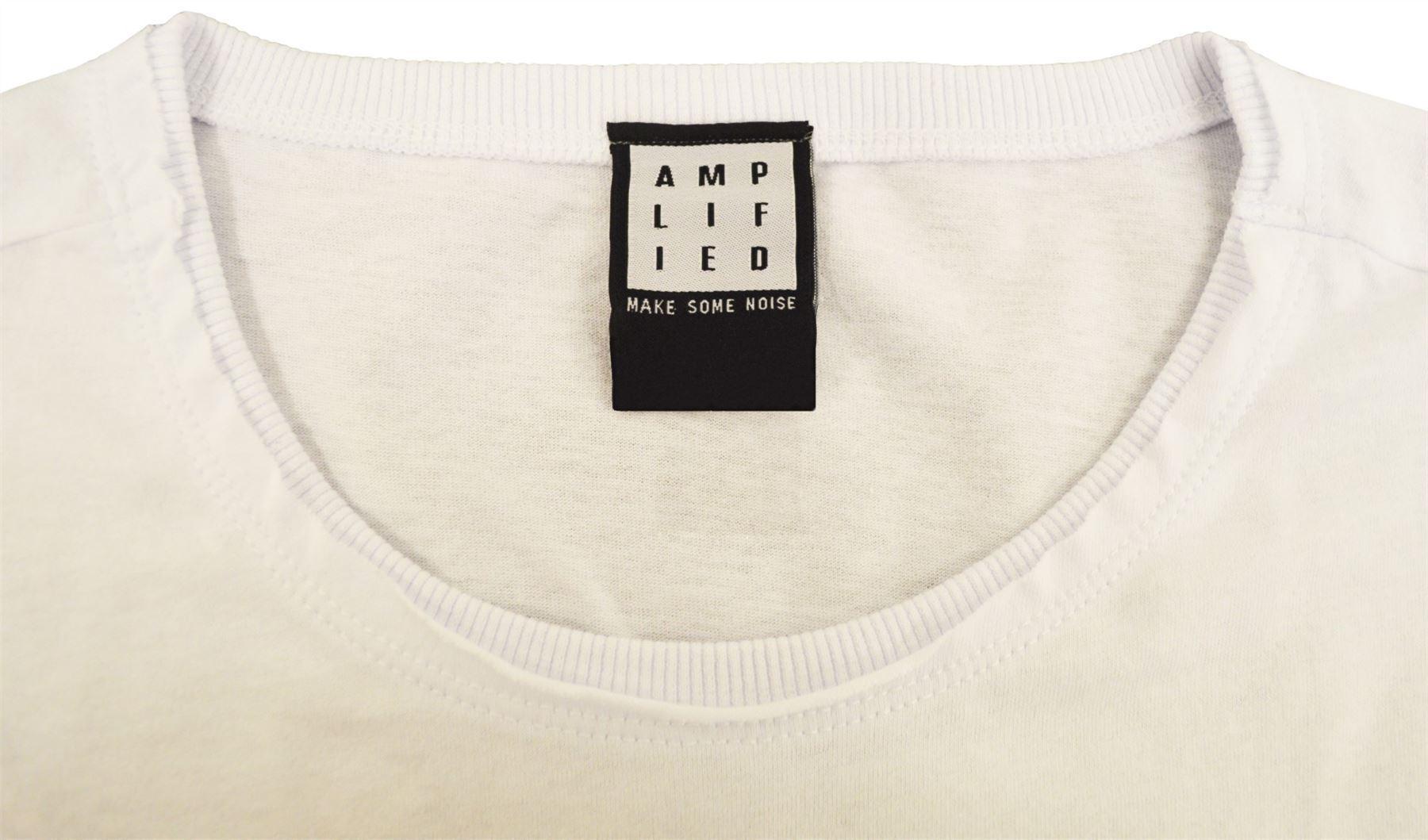 Amplified-Joy-Division-Unknown-Pleasures-Crew-Neck-T-Shirt thumbnail 11