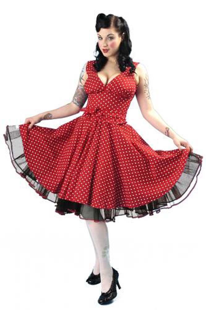 Phaze-Polka-Dot-Circle-Dress-Reduced-To-Clear miniatura 7