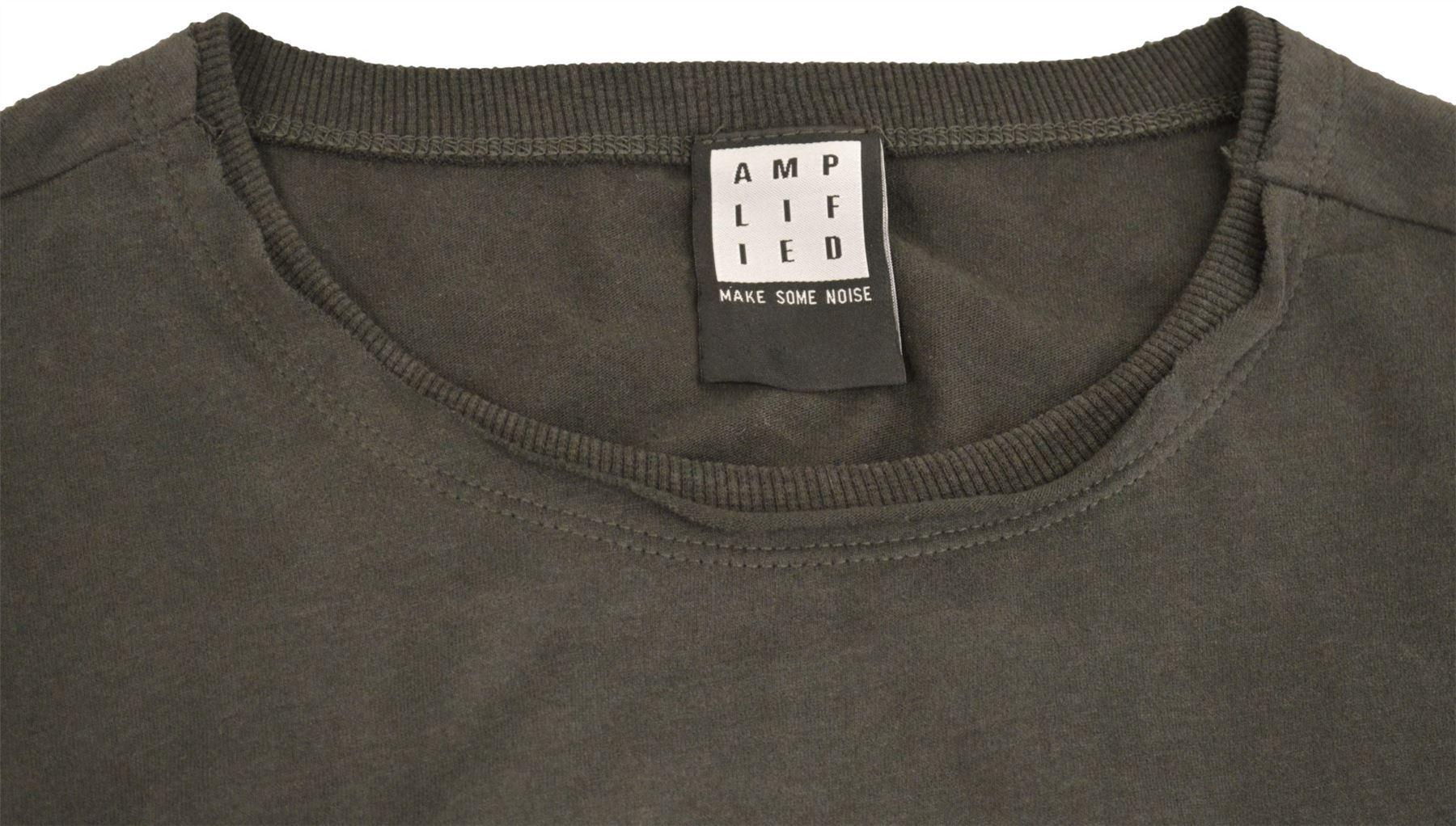 Amplified-Joy-Division-Unknown-Pleasures-Crew-Neck-T-Shirt thumbnail 8