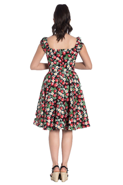 Nero Midi Hell Strawberry Dress Bunny Sundae Swing xqxSw0IY