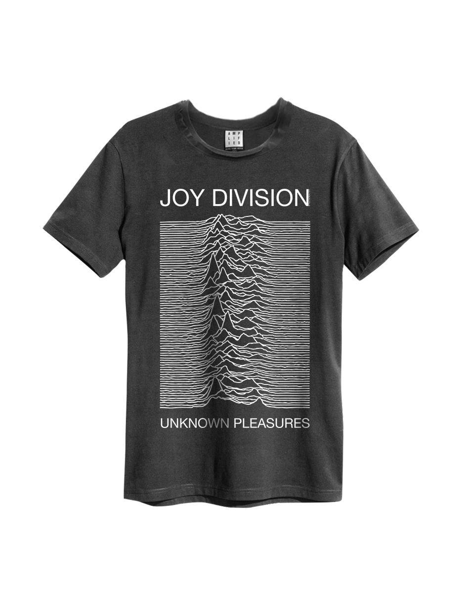 Amplified-Joy-Division-Unknown-Pleasures-Crew-Neck-T-Shirt thumbnail 7