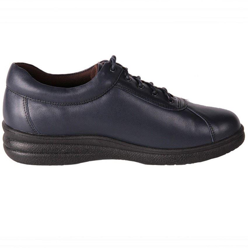 Black Work Shoes Wide Fit Ladies