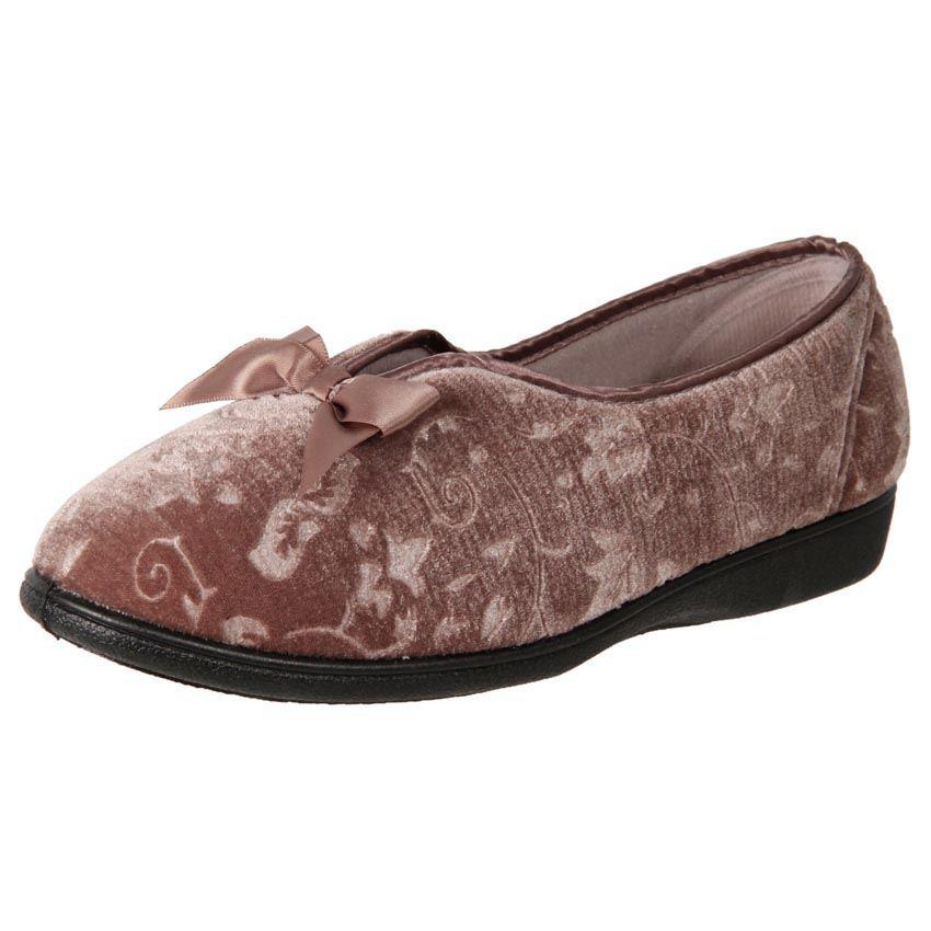 New Grosby Women's Floral Comfort Warm Slipper Vanessa Cheap