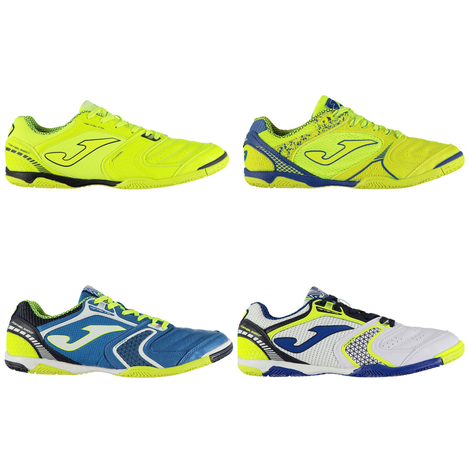 09c2df2693a Details about Joma Dribling 721 Indoor Football Trainers Mens Soccer Futsal  Shoes Sneakers