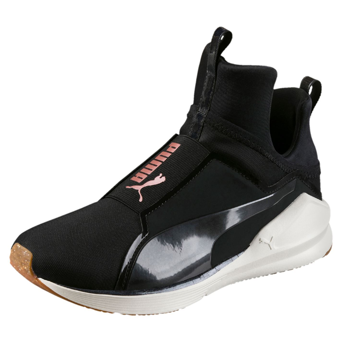 ... Puma Fierce Velvet Rope Fitness Training Shoes Womens Black Trainers  Sneakers b84e64826