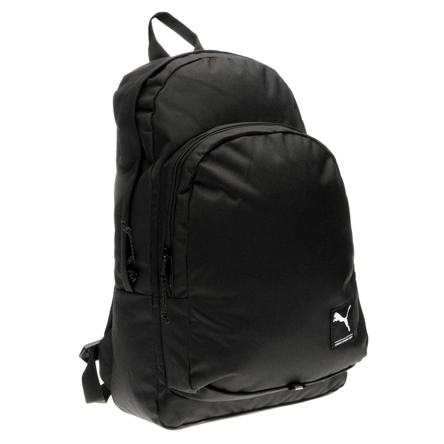 4ae033acf43b ... Puma Academy Backpack Black Sports Bag Holdall Rucksack ...