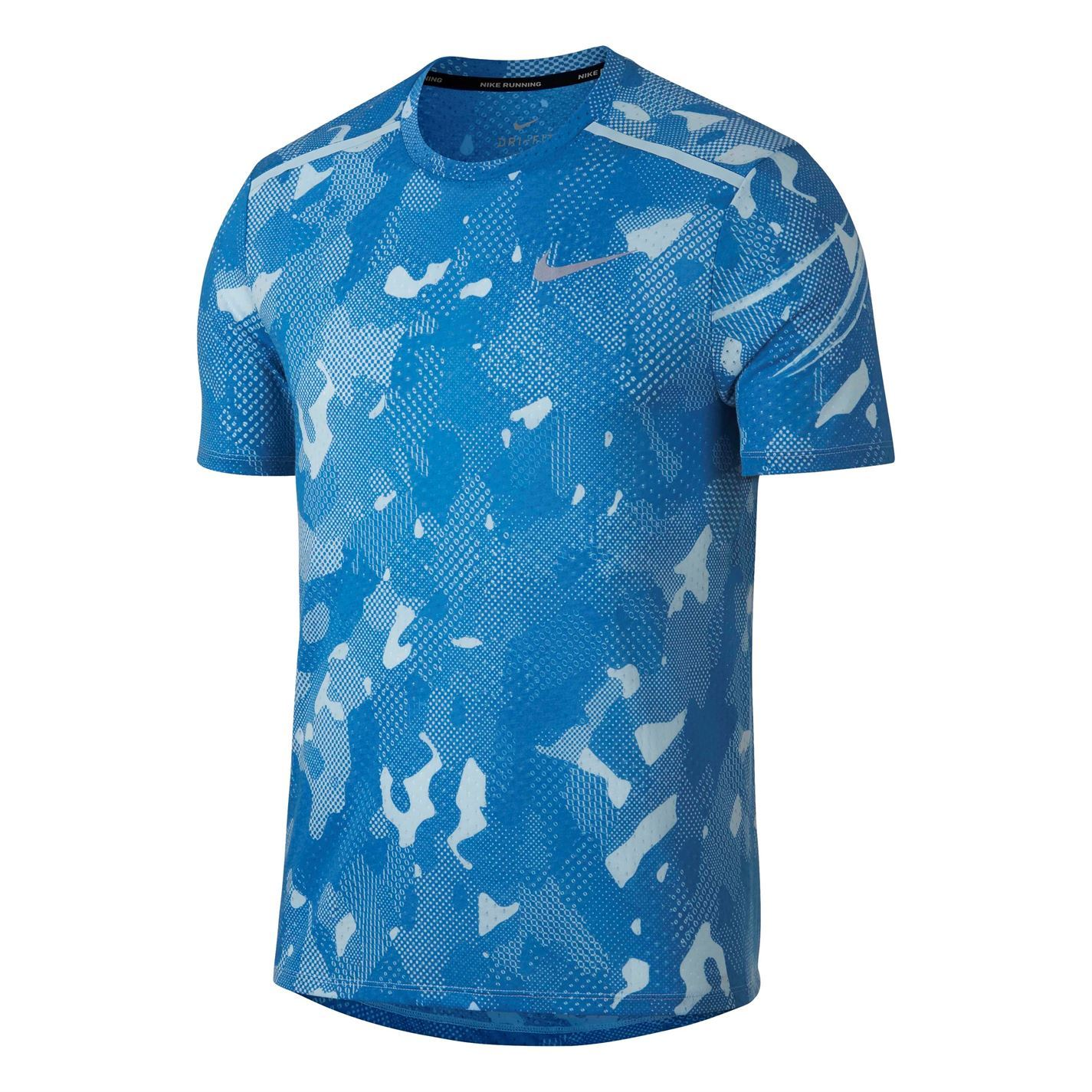 50a54b77 Nike Tailwind Camouflage Running Top Mens Jogging Fitness Workout T ...