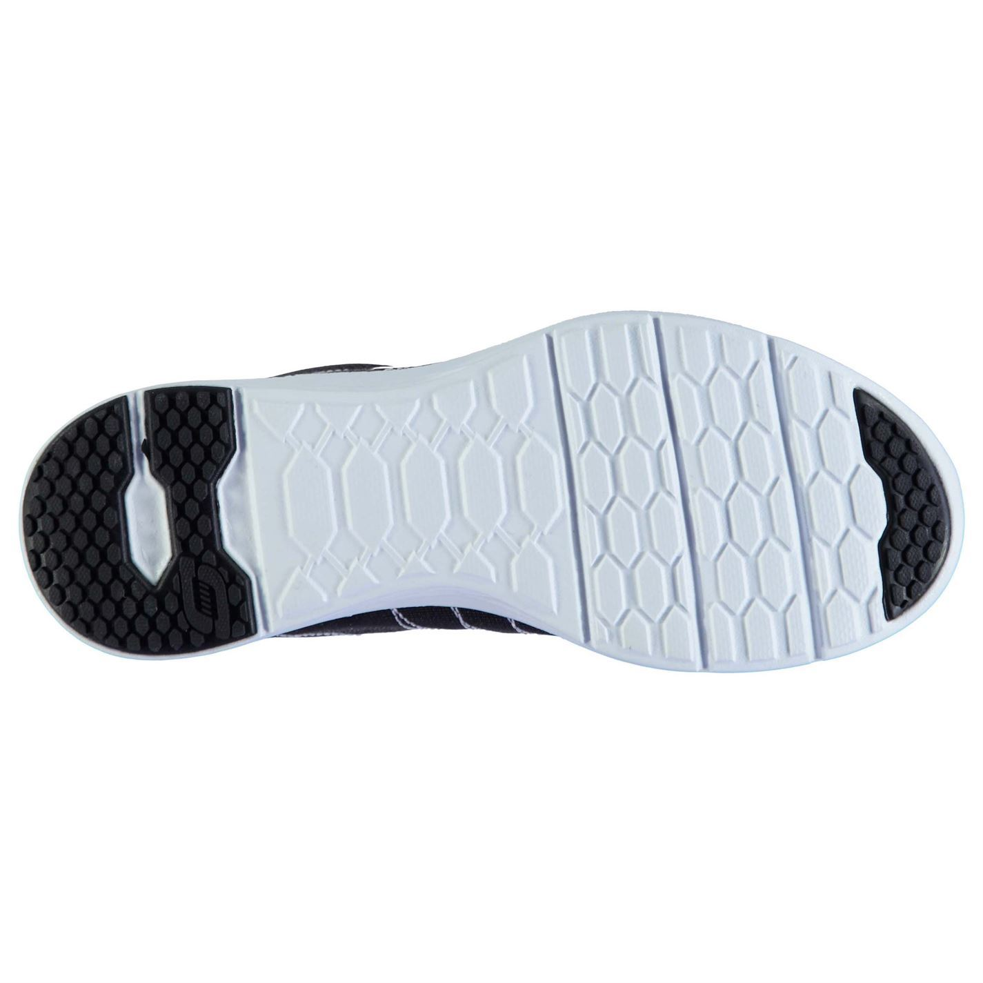 Detalles de Skechers Valeris Zapatillas Mujer NegroBlanco Zapatos Mujer Calzado