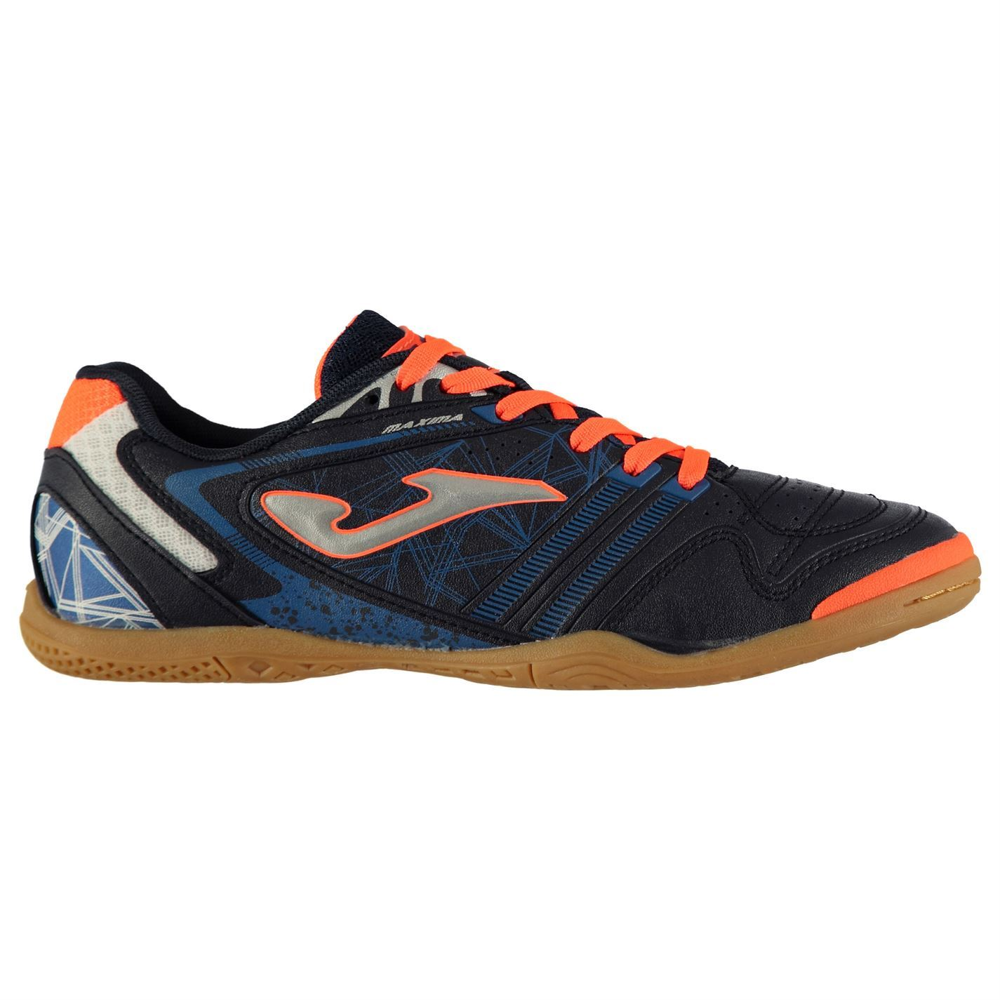 3ee043a52ed7f Joma Maxima Indoor Football Trainers Mens Soccer Futsal Shoes ...