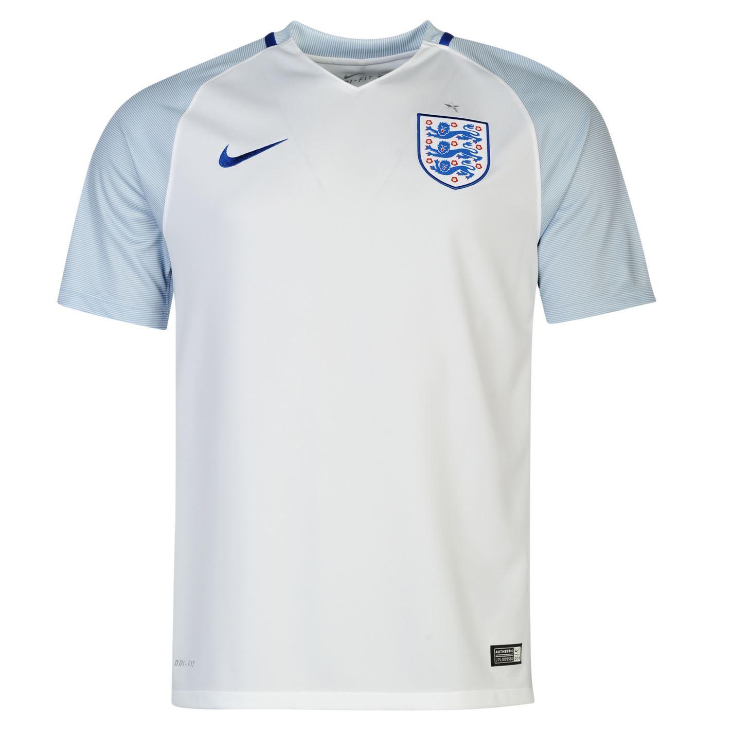 ... Nike England Home Jersey 2016 Mens White Football Soccer Shirt Top ...