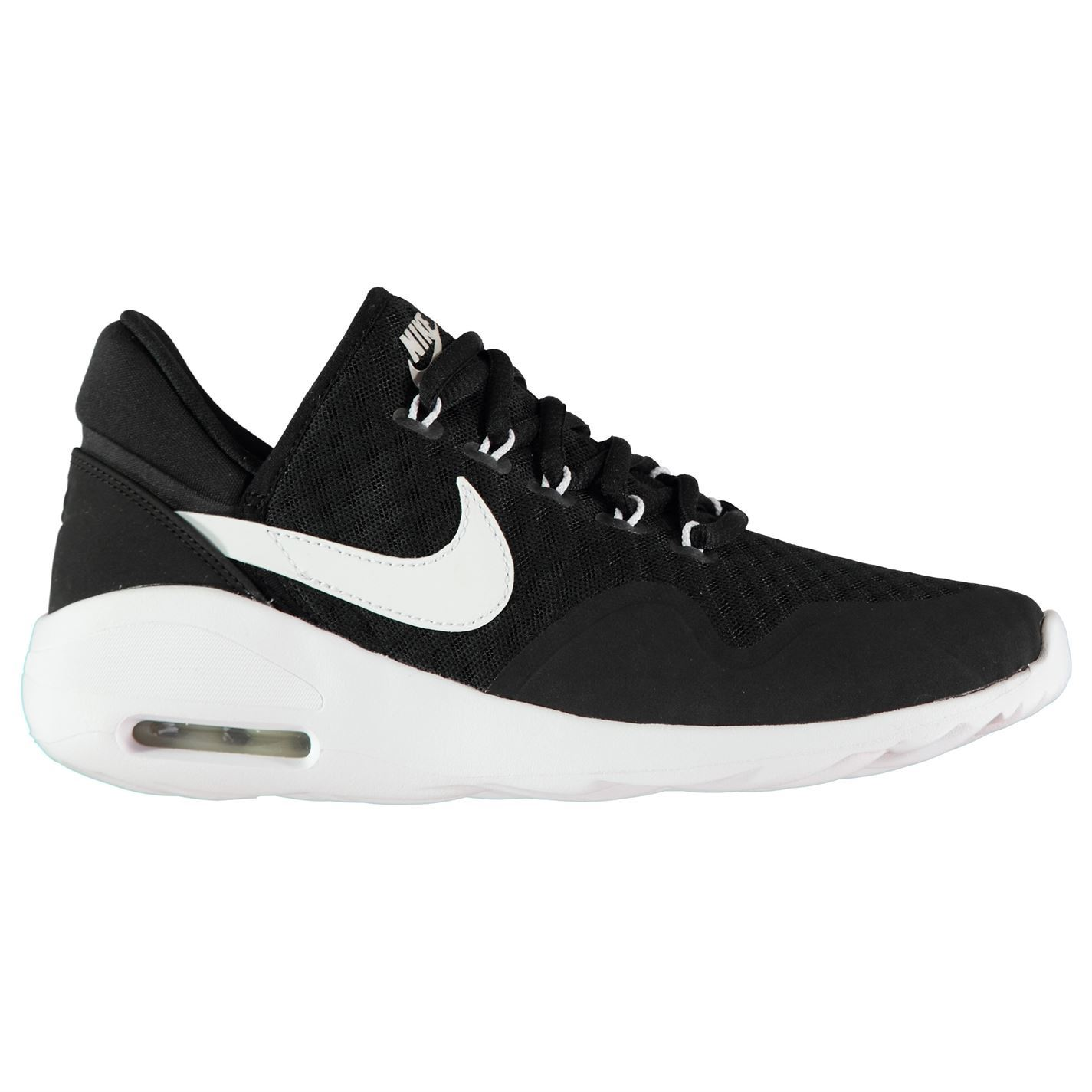 separation shoes b2df5 f0afa ... Nike Air Max Sasha Running Shoes Womens nero bianco Jogging scarpe da  ginnastica scarpe da ...