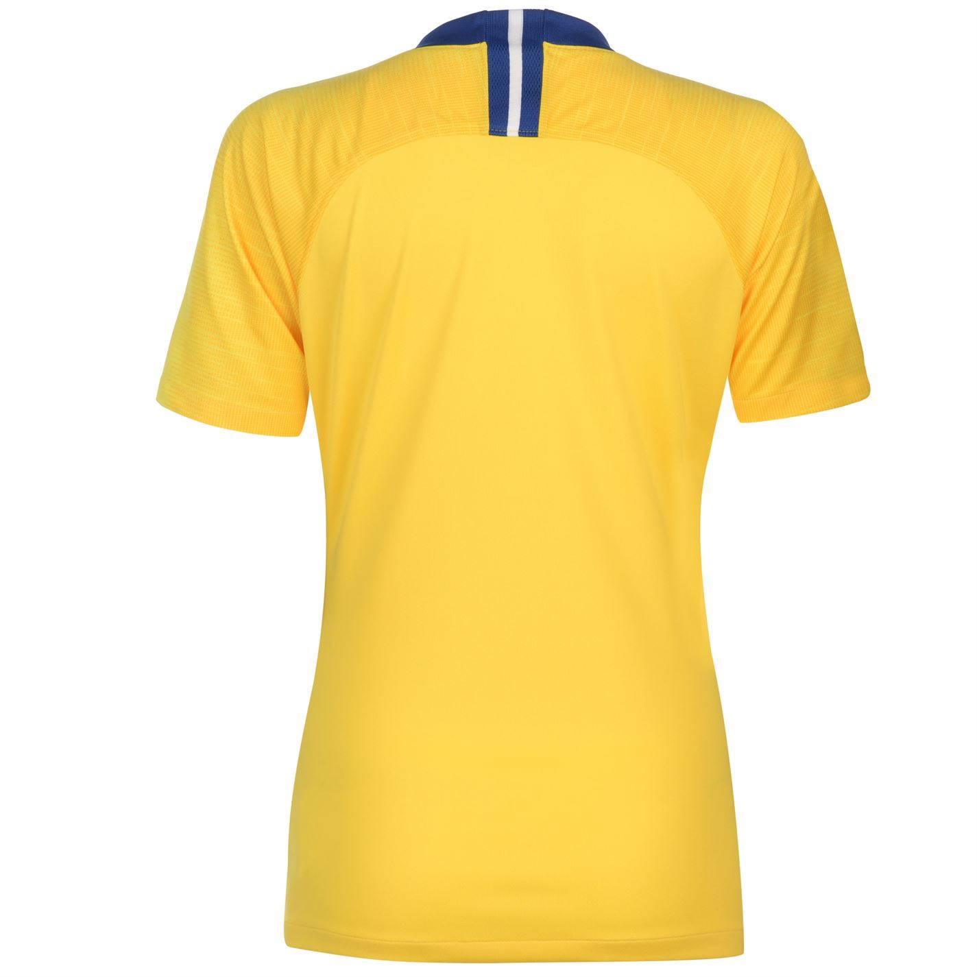 sports shoes fd627 a316a Details about Nike Chelsea Away Jersey 2018 2019 Womens Yellow Football  Soccer Fan Shirt Top