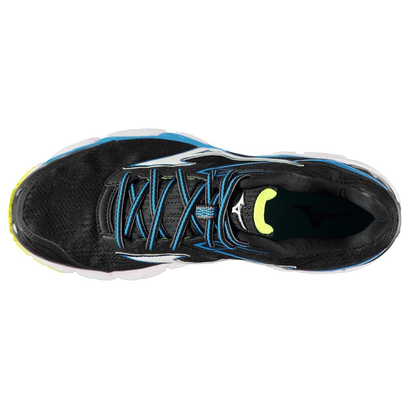 Mens Jogging 9 Running Mizuno Shoes Blackwhtblue Ultima Wave t0RwxX