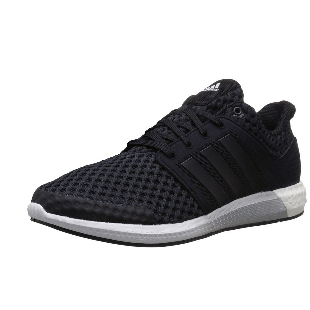 559784ce64905 ... adidas Boost Solar RNR Running Shoes Mens Black Gym Fitness Trainers  Sneakers ...