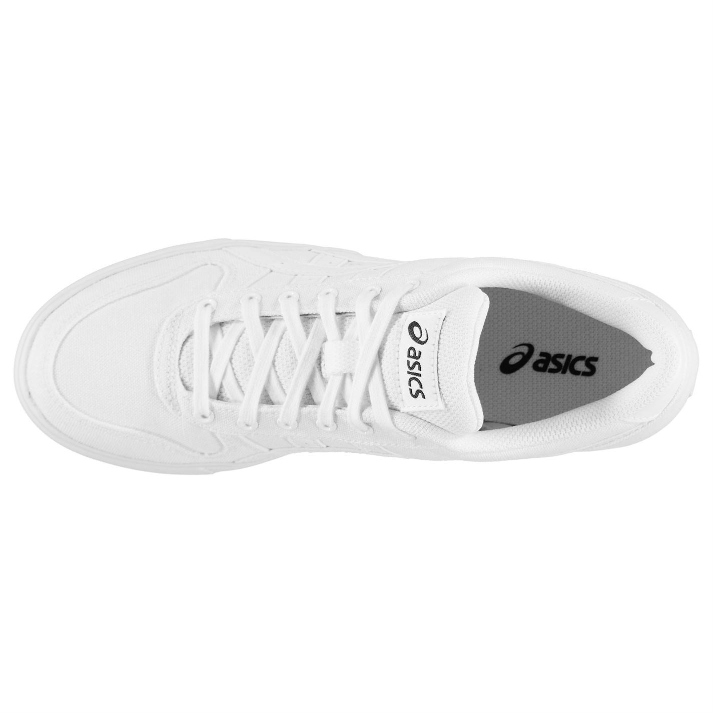 Asics Aaron Mens Trainers Shoes White