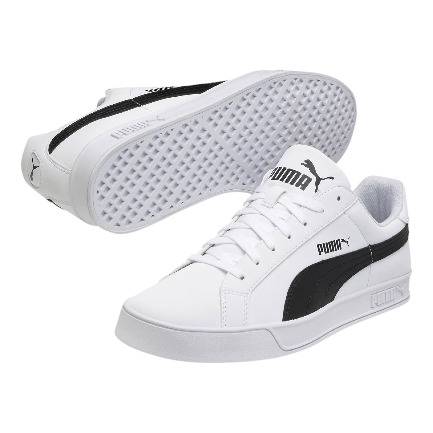 Details about Puma Smash Vulc Trainers Mens Athleisure Footwear Shoes Sneakers