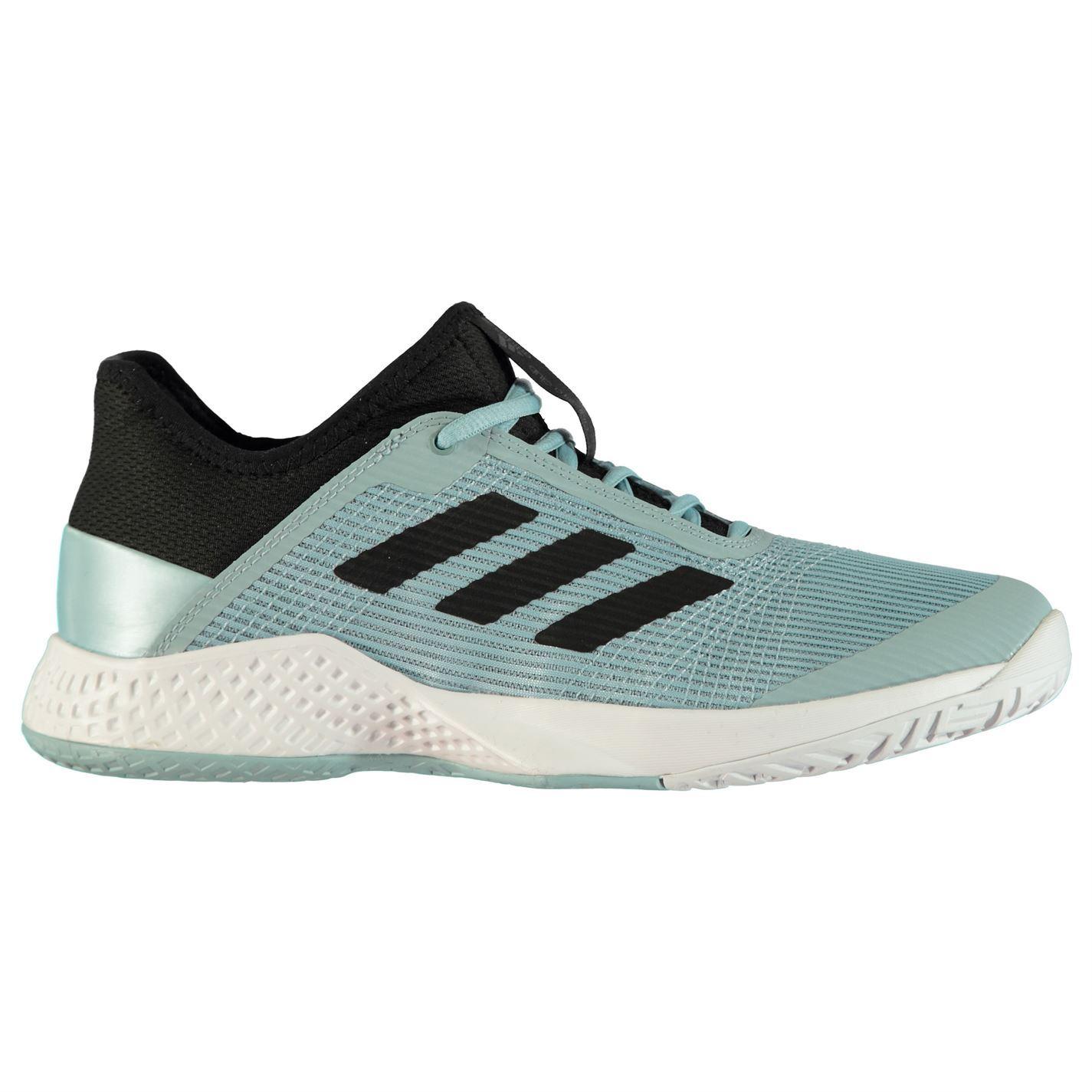 Adizero Club K PinkWhite Junior Tennis Shoes