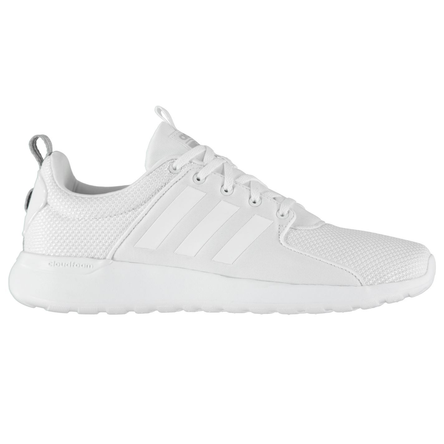 adidas cloudfoam lite racer mens slip on trainers