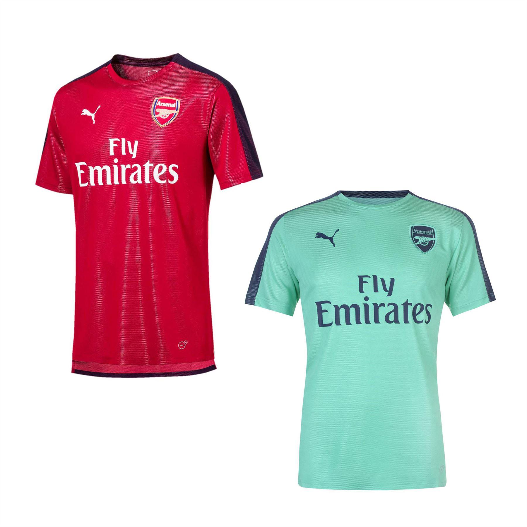 8e1eca7d2f3 Details about Puma Arsenal Stadium Jersey 2018 2019 Mens Football Soccer  Fan Shirt Top Tee