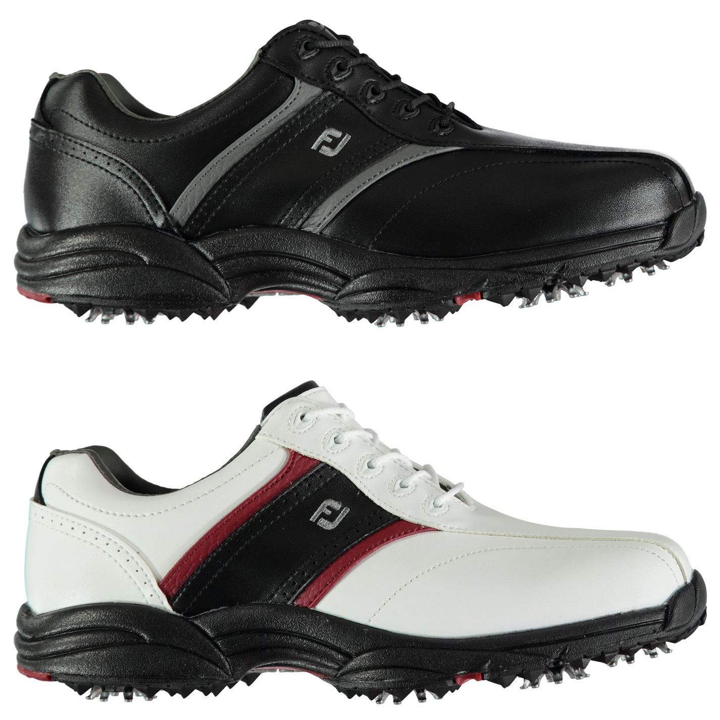 ee9d24094d98a Details about Footjoy Softjoy Golf Shoes Mens Spikes Footwear
