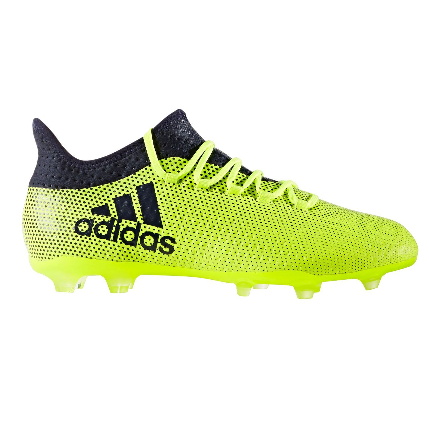 big sale f7c80 e596a Details about adidas X 17.2 FG Firm Ground Football Boots Mens Yellow/Ink  Soccer Shoes Cleats