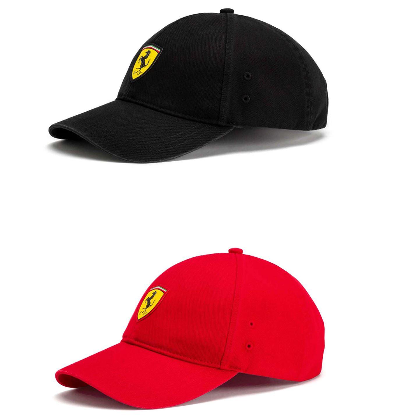 Details about Puma Ferrari Fanwear Baseball Cap Mens Baseball Hat Headwear