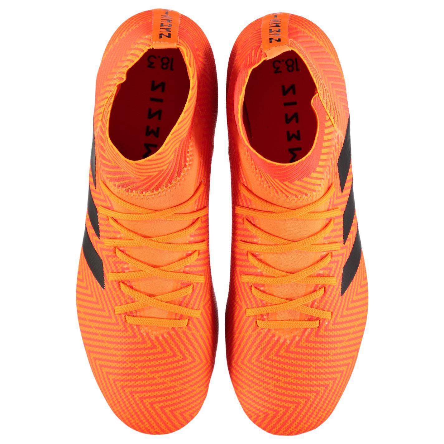 f9ae09f49 ... adidas Nemeziz 18.3 Firm Ground Football Boots Mens Orange Soccer Shoes  Cleats