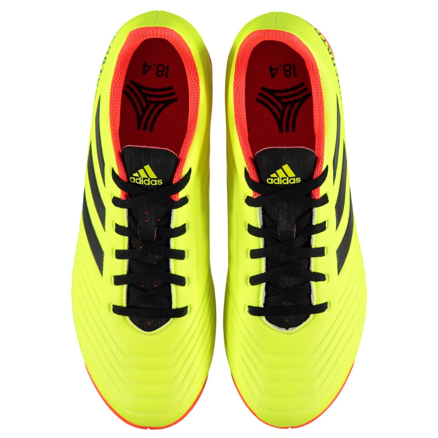fdeec54c006 ... adidas Predator Tango 18.4 Indoor Football Trainers Mens Yellow Soccer  Shoes
