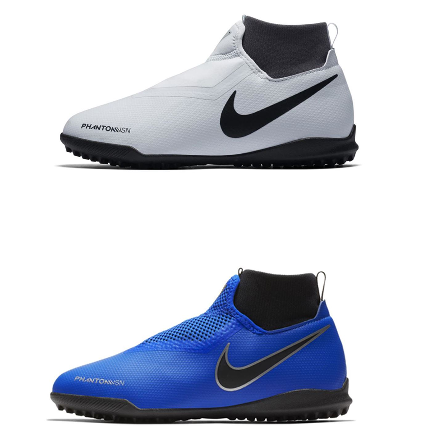 8f7593b11 Details about Nike Phantom Vision Academy DF Astro Turf Football Trainers  Juniors Soccer Shoes