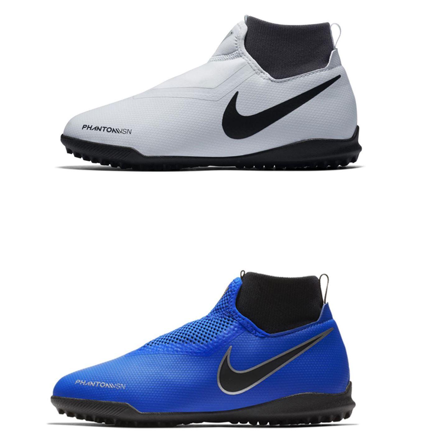 3c51a858234 ... Nike Phantom Vision Academy DF Astro Turf Football Trainers Juniors  Soccer Shoes ...