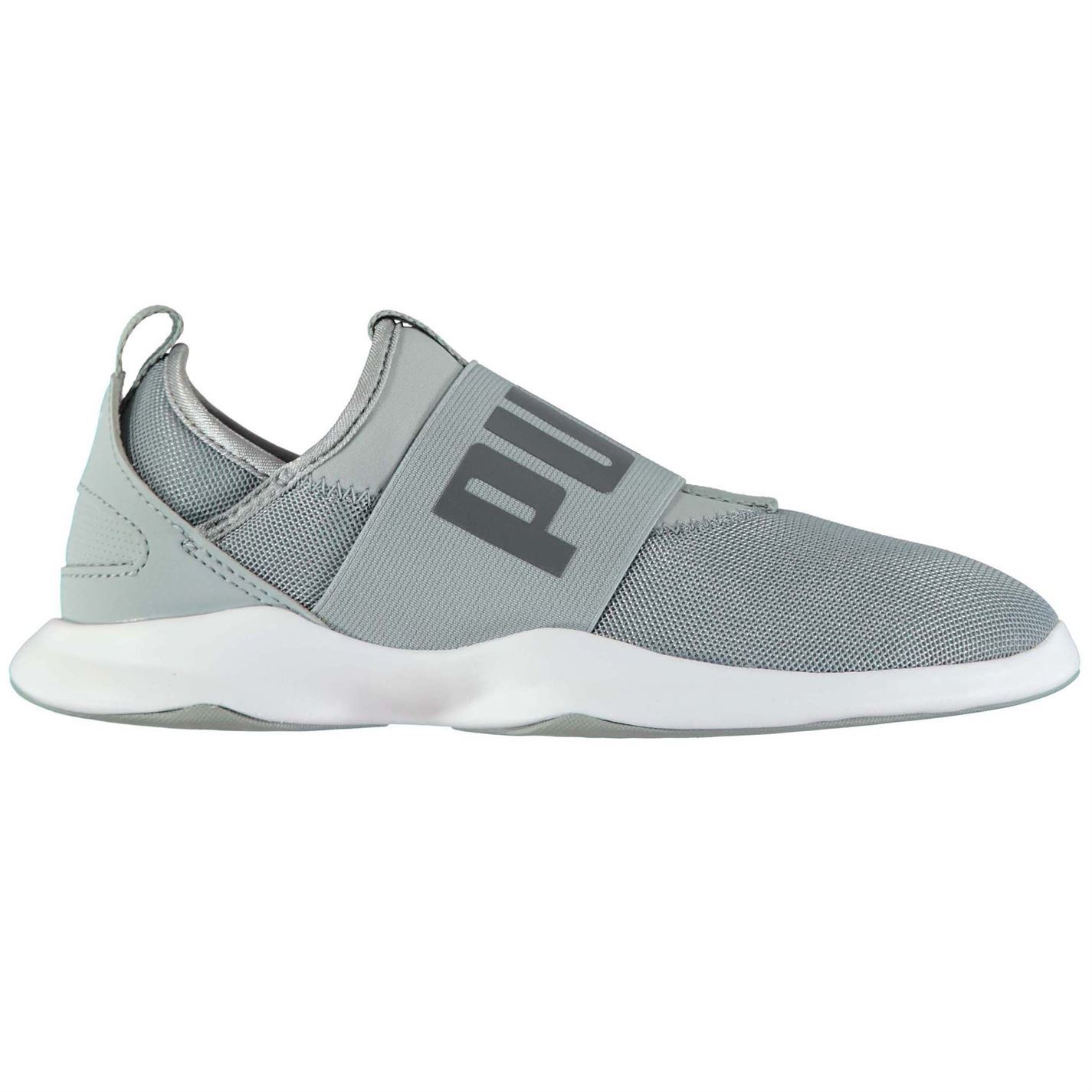 ... Puma Dare Running Shoes Womens Grey Run Jogging Trainers Sneakers ... 4f33486b4300