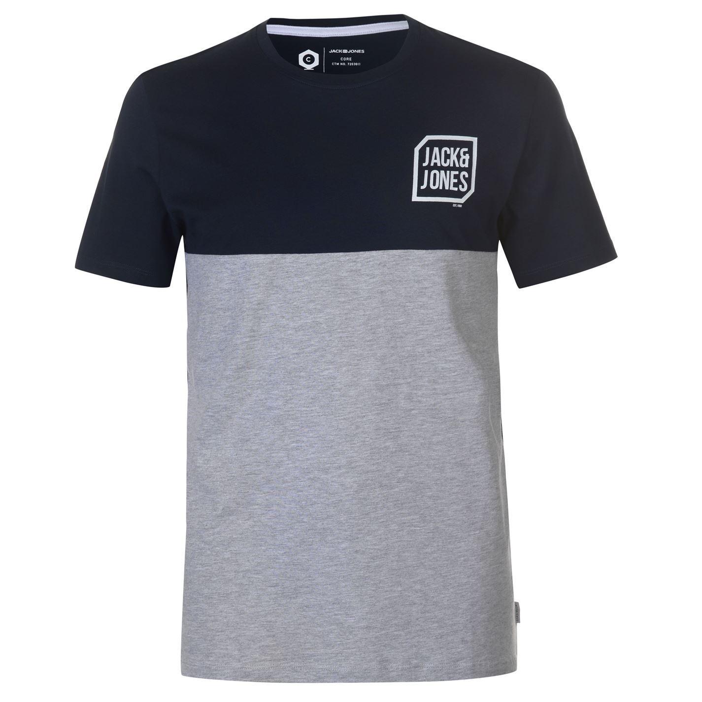 Jack-and-Jones-Core-Tern-T-Shirt-Mens-Tee-Shirt-Top thumbnail 3
