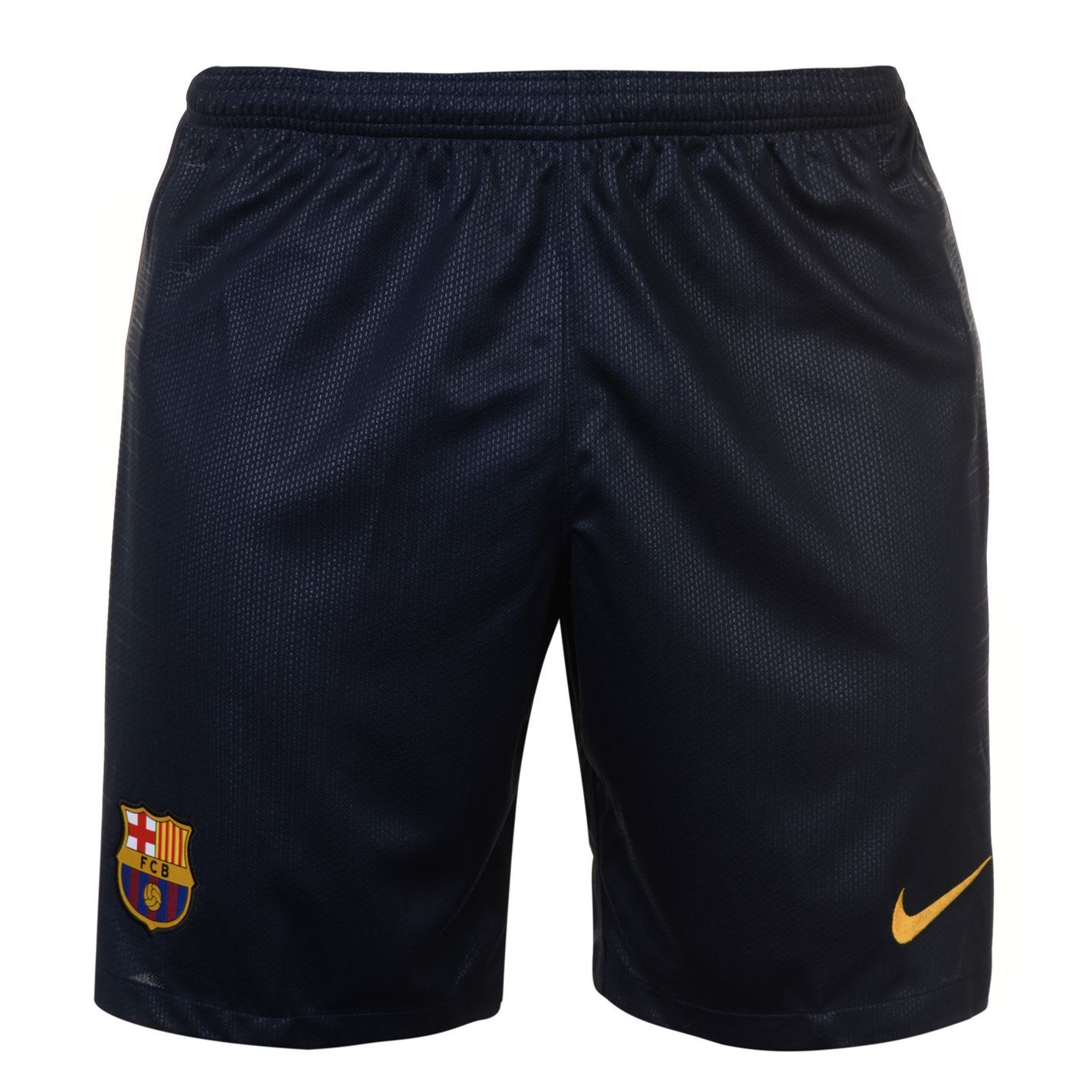 5e5772a14cf ... Nike Barcelona Home Shorts 2018 2019 Mens Navy Football Soccer Fan  Sportswear ...