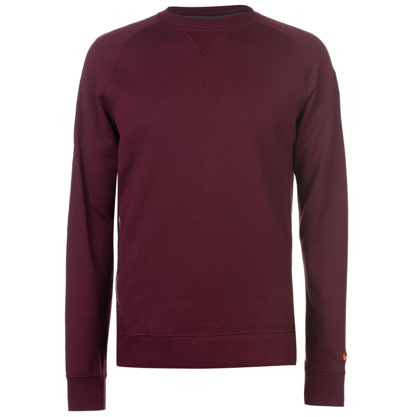 ef5f77bb420 Nike FC Barcelona Crew Sweater Mens Purple Football Soccer Sweatshirt  Jumper Top