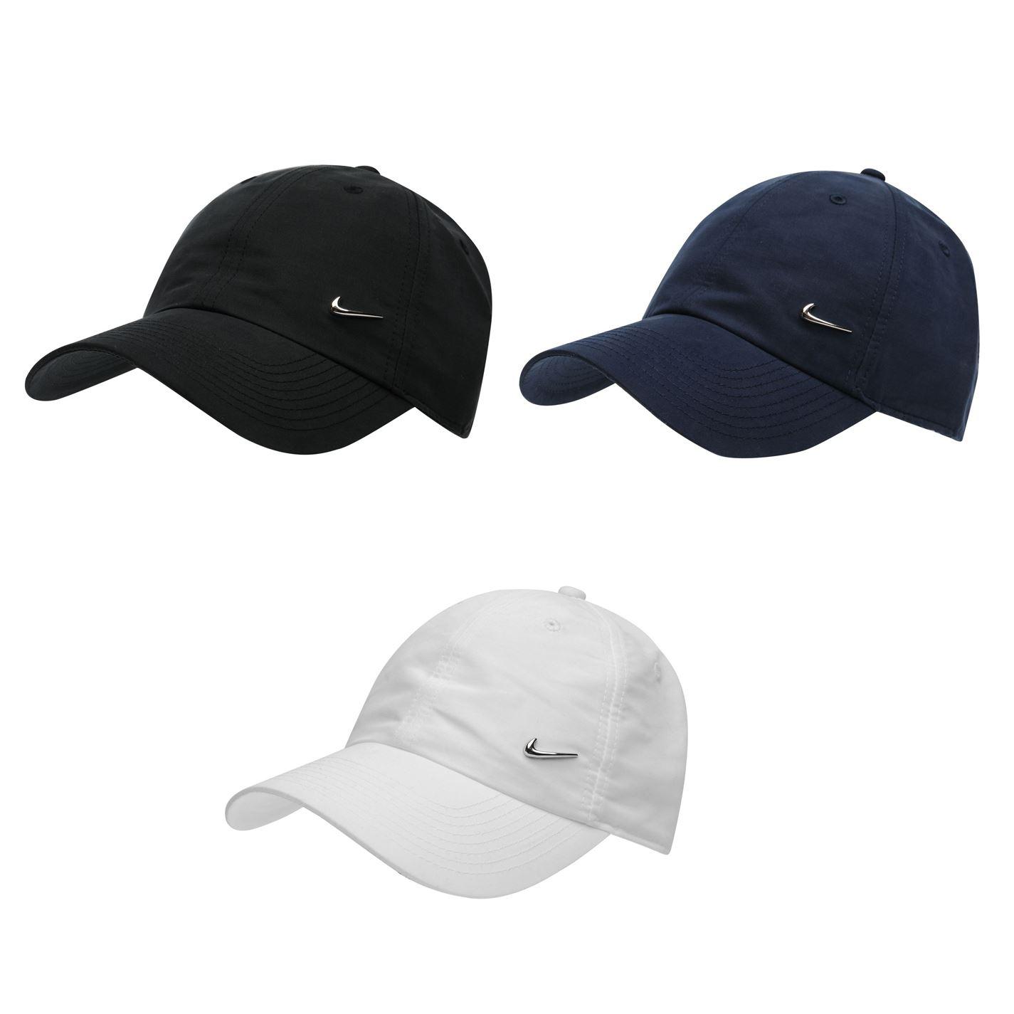 the best attitude d5c4f 31fab Details about Nike Metal Swoosh Cap Mens Baseball Hat Headwear