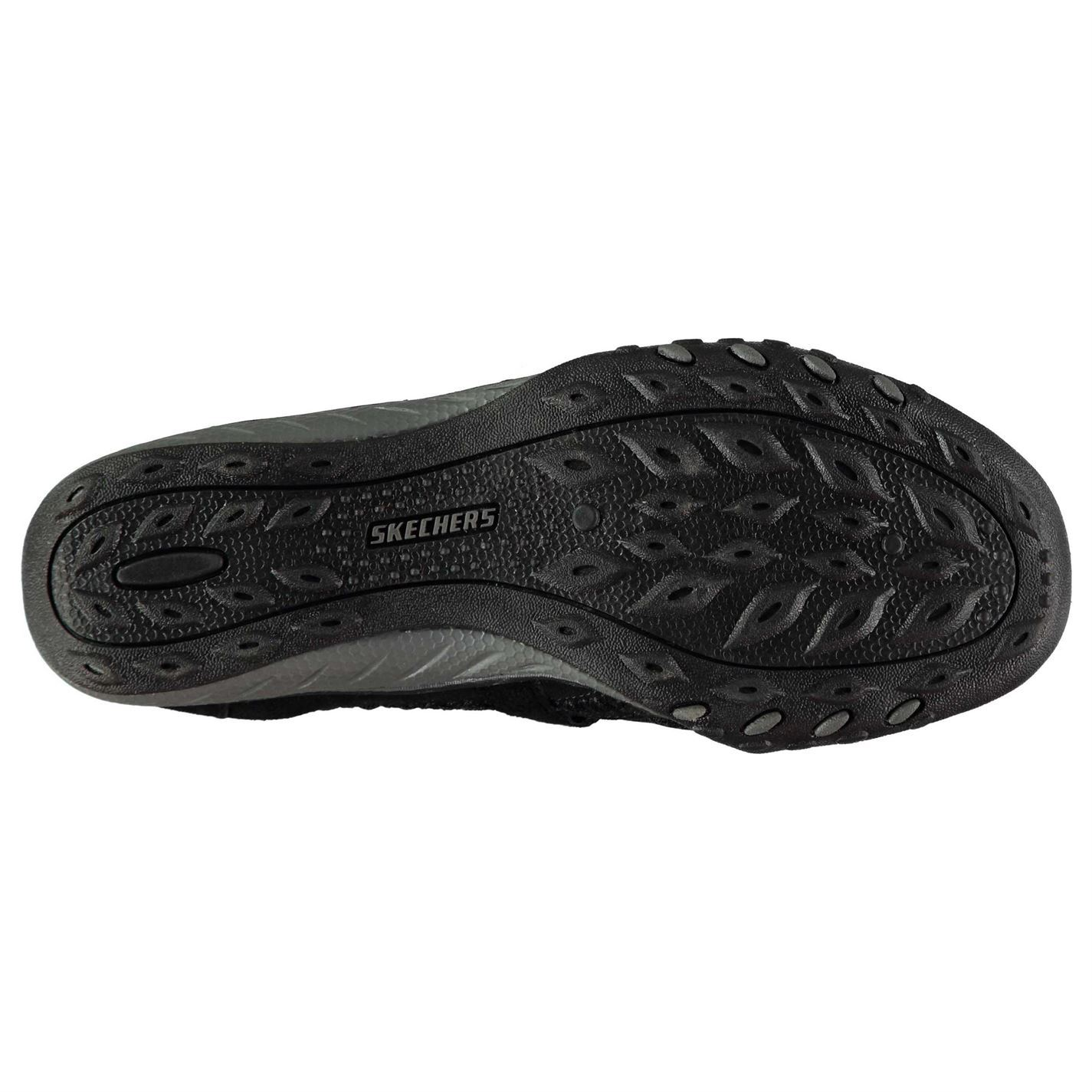 Vacante Viaje tenga en cuenta  Skechers Relaxed Fit Breathe Easy Shoes Ladies Black Womens Footwear | eBay