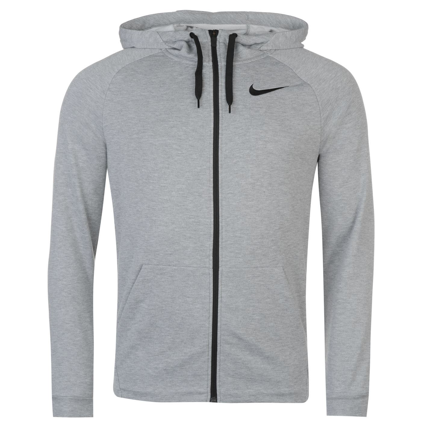 47ec36d90d45 ... Nike Dri-Fit Full Zip Hoody Jacket Mens Hoodie Sweatshirt Sweater Hooded  Top