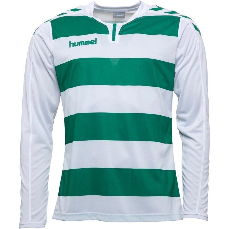 thumbnail 18 - Hummel-Long-Sleeve-Football-Shirt-Mens-Soccer-Jersey-Top-T-Shirt