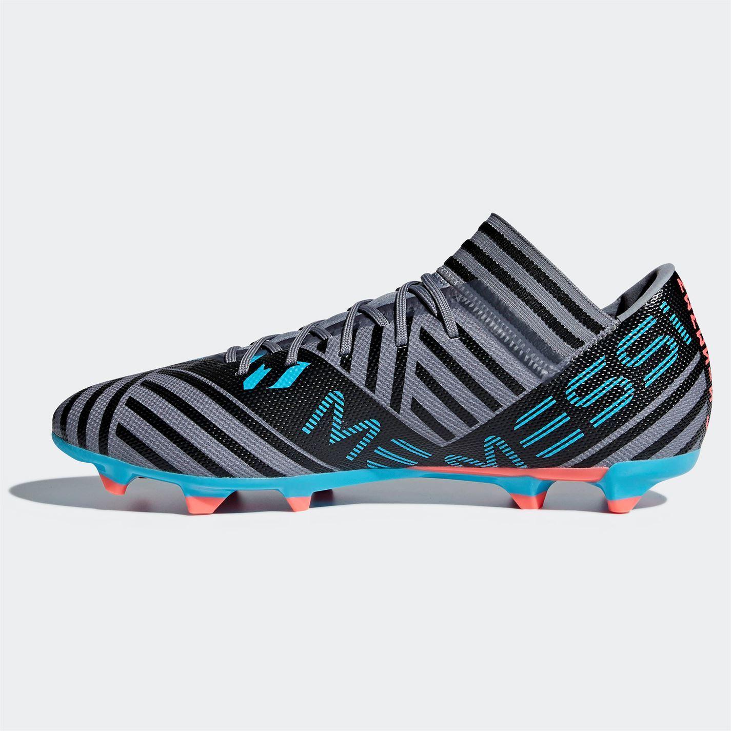 af58a9457c8618 ... adidas Nemeziz Messi 17.3 Firm Ground Football Boots Mens Grey Soccer  Cleats