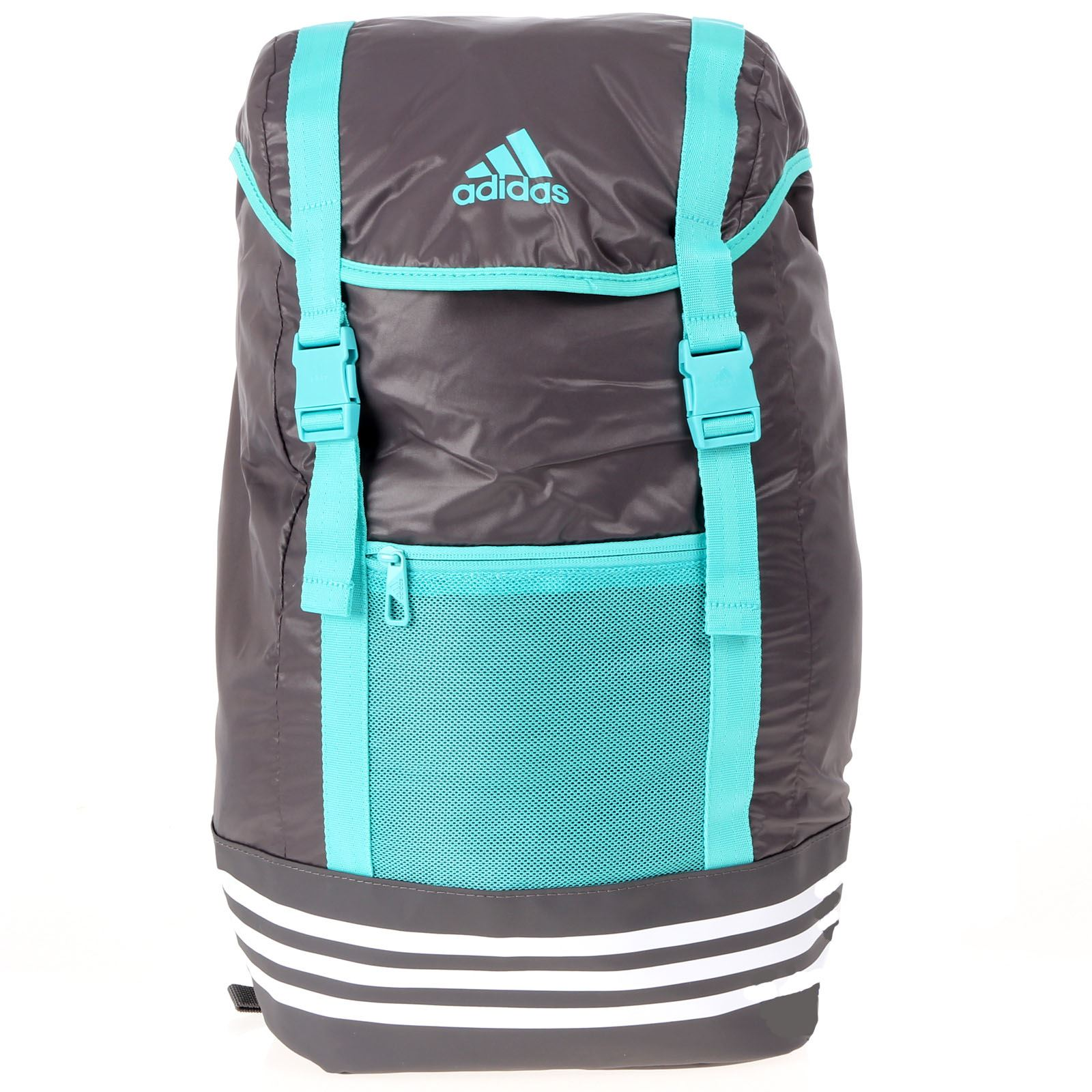 c3c76a797b4b8 Details about adidas Climacool Active Life G Backpack Grey Green Bag BP  Rucksack Holdall