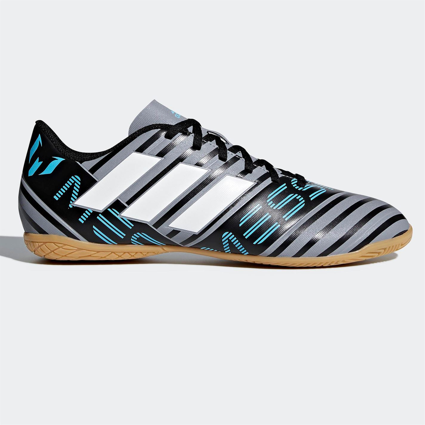 587af782d8d ... adidas Nemeziz Messi Tango 17.4 Indoor Football Trainers Mens Grey  Soccer Shoes ...