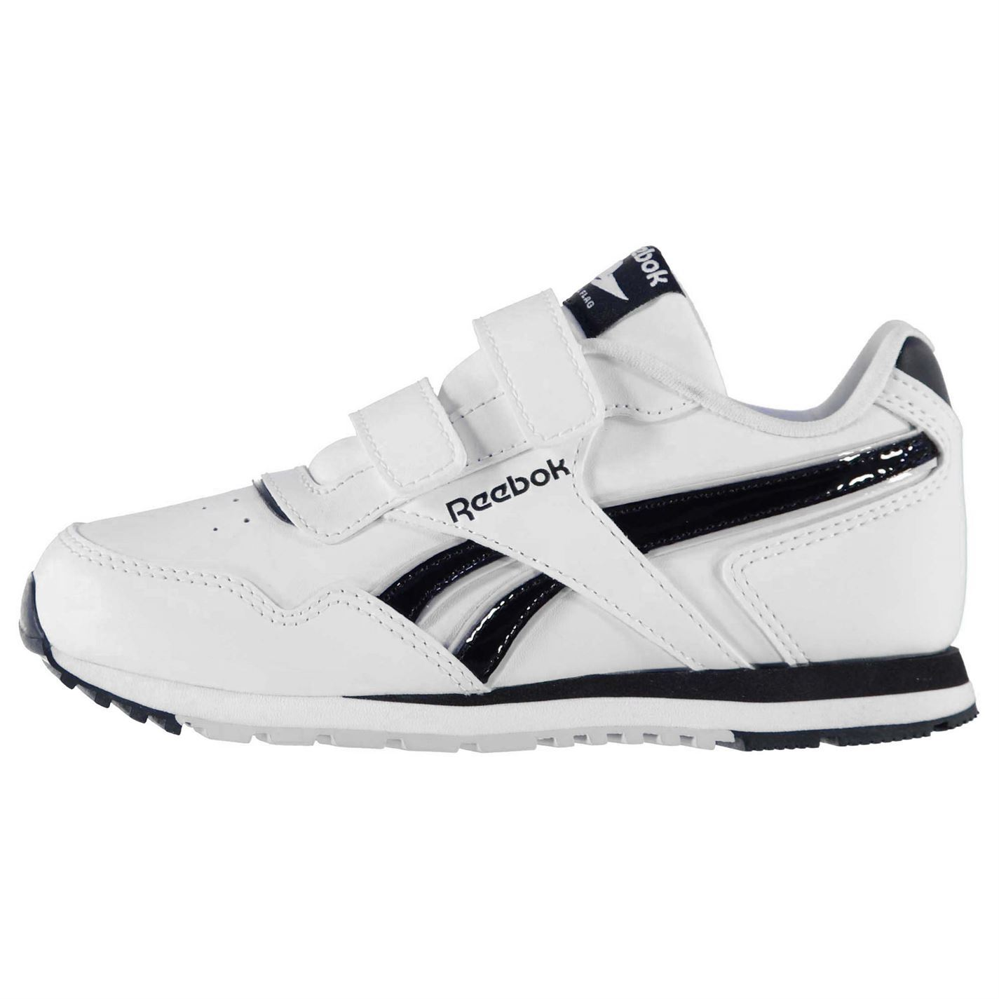 Details about Kids Boys Reebok Classic Jogger RS Infant Trainers Runners Padded Ankle New