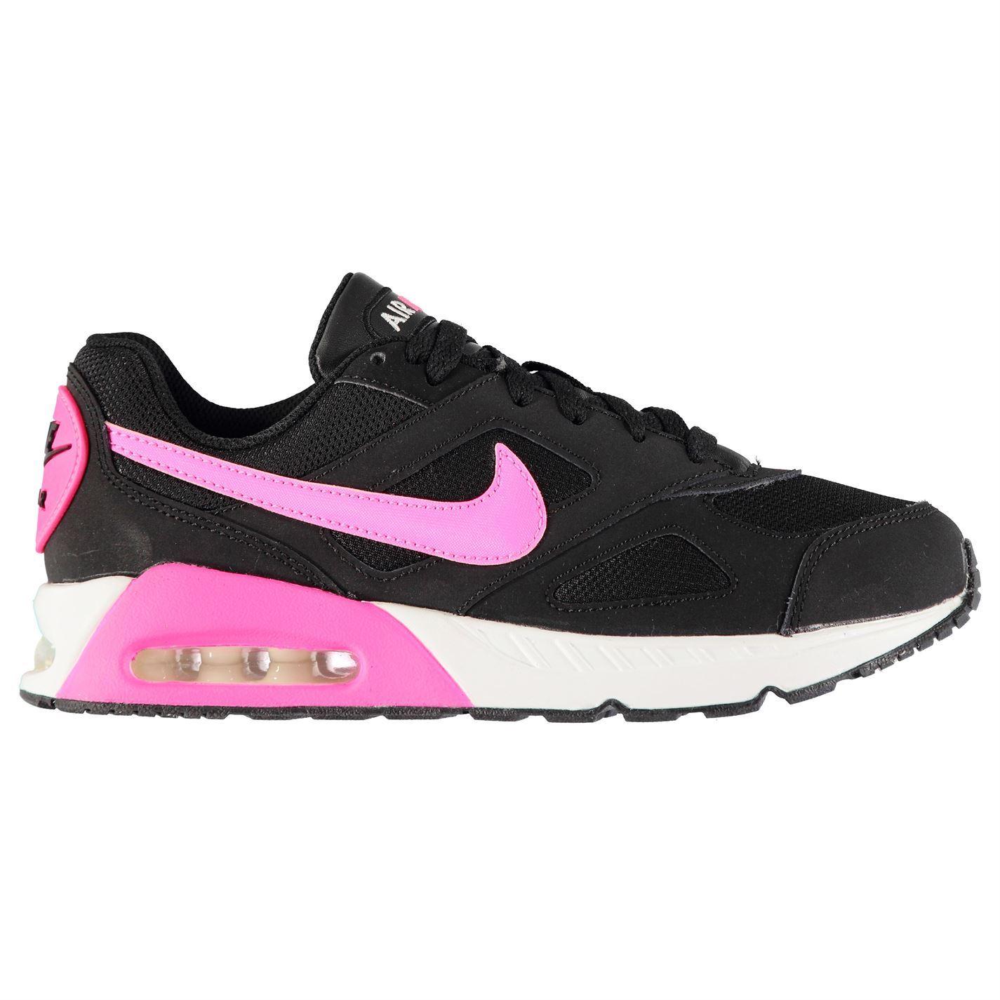 buy popular f6891 85011 Nike Air Max Ivo Girls Trainers Black Pink Shoes Footwear