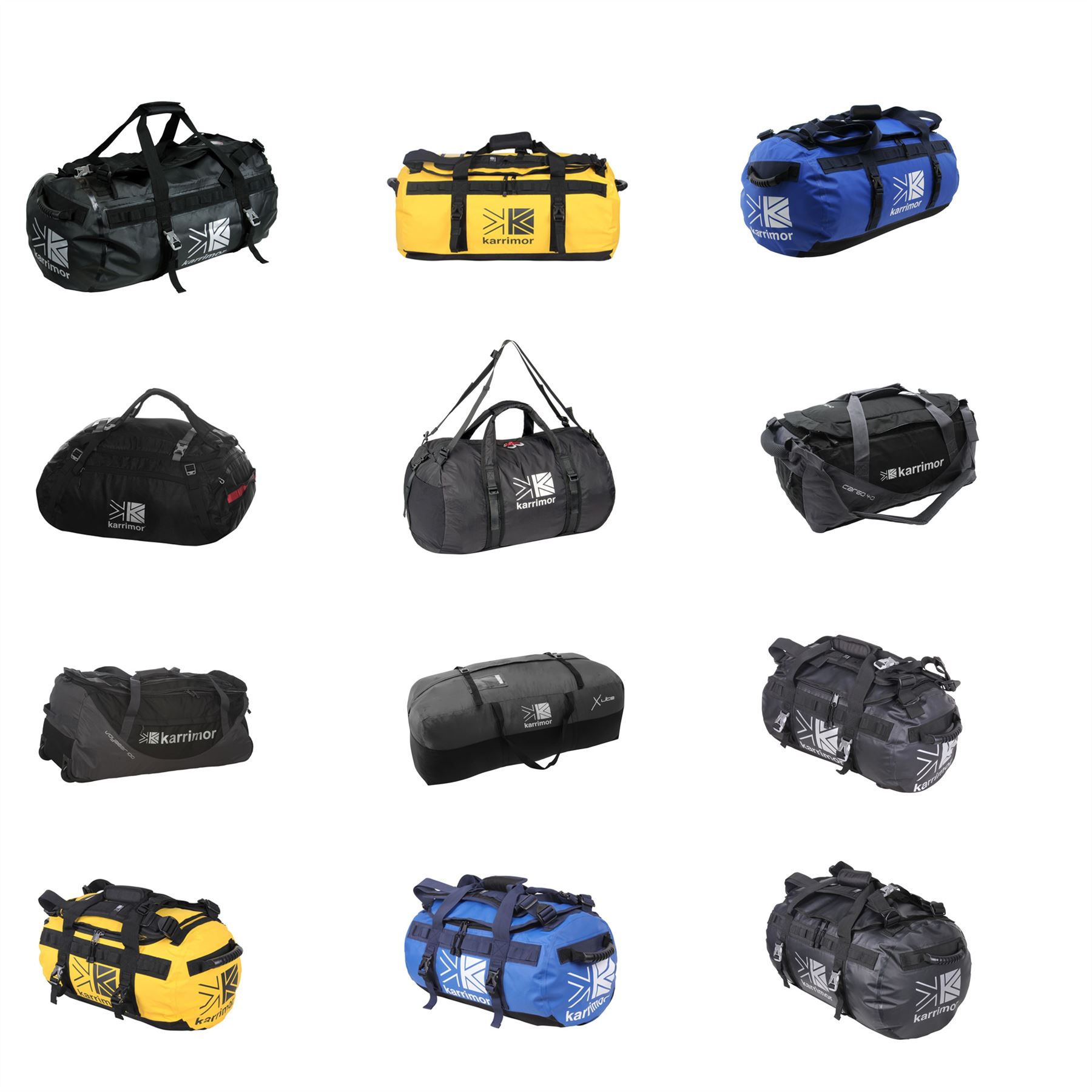 07f507dc3a24 Details about Karrimor Duffle Bags 40L 47L 65L 70L 90L Carryall Holdall  Barrel Bag Kitbag