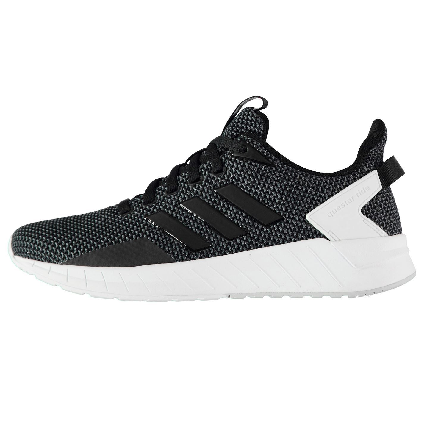 sports shoes ace62 601ab adidas Questar Ride Running Shoes Womens BlackWhite Jogging Trainers  Sneakers