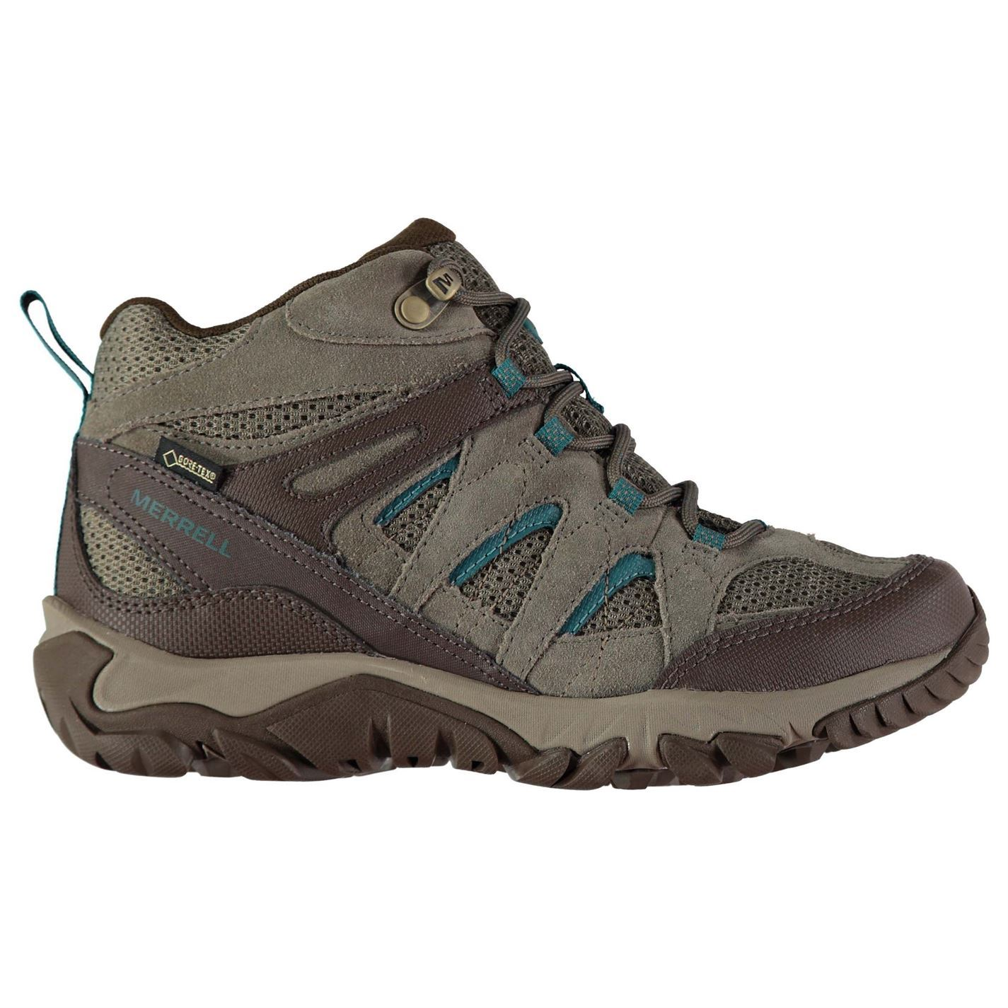 Details about Merrell Outmost Vent Gore Tex Walking Boots Womens Hiking Trekking Shoes