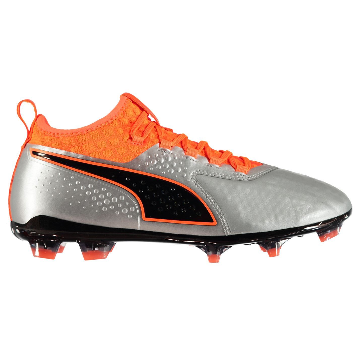 Puma ONE 2 FG Firm Ground Football Boots Mens Soccer Shoes Cleats  36b4db9464b2a