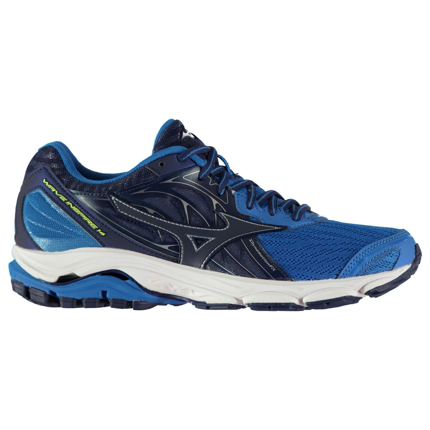 eac21d5908 Mizuno Wave Inspire 14 Running Shoes Mens Fitness Jogging Trainers ...
