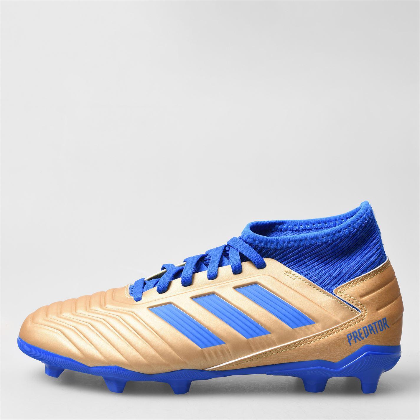Adidas-Predator-Junior-19-3-FG-Firm-Ground-football-boots-Boys-Football-Chaussures miniature 7