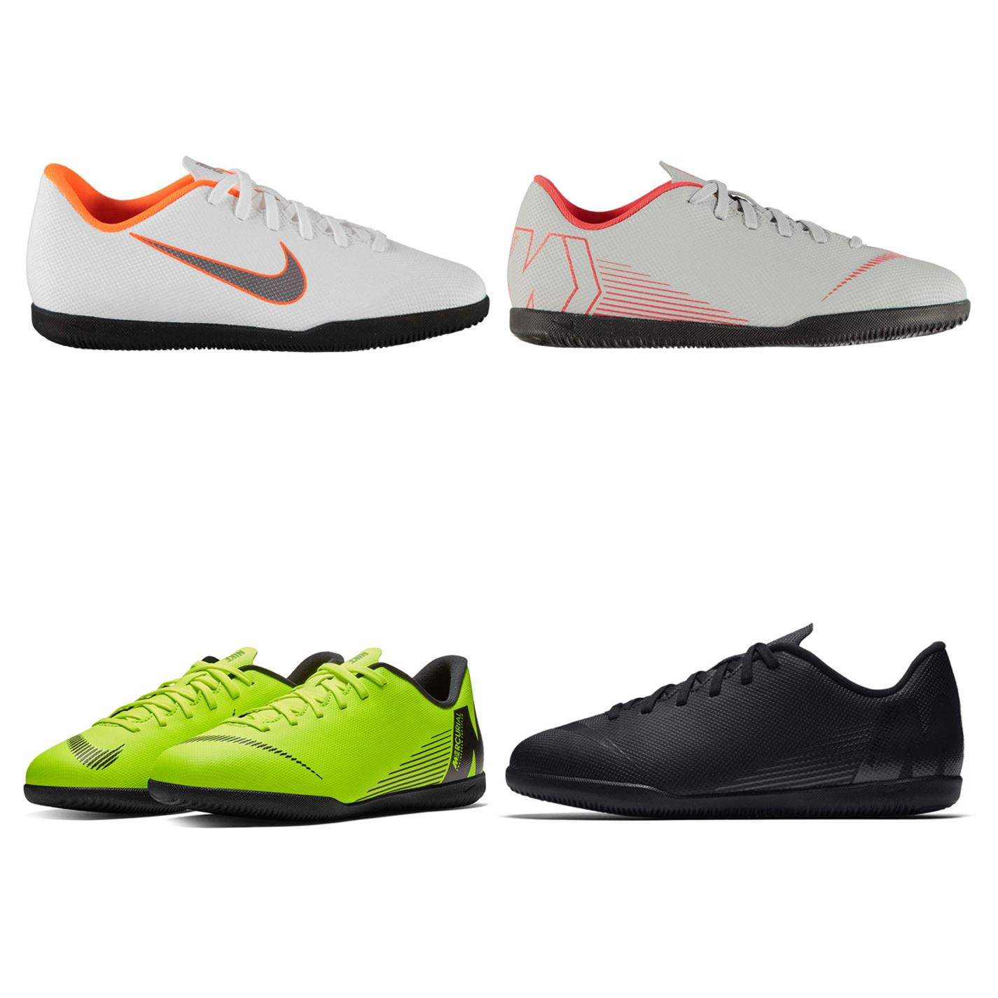 93136916b Details about Nike Mercurial Vapor Club Indoor Football Trainers Juniors  Soccer Shoes Sneakers